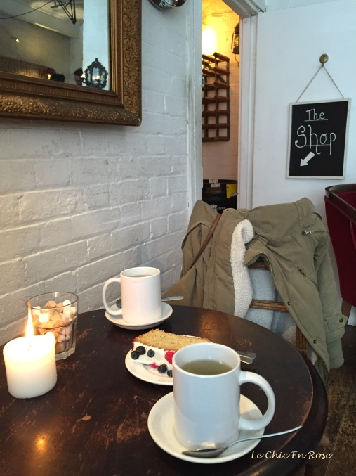 Afternoon tea at 14 Bacon Street London