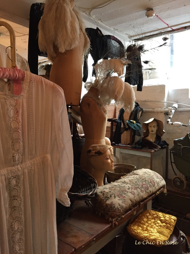 Some of the finds in the old vintage emporium at 14 Bacon Street