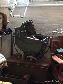 Old fashioned toy pram