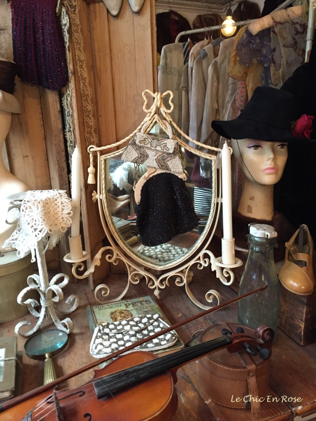 Hats, mirrors and even a violin!