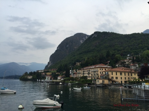 Early Evening Looking Back At Grand Hotel Menaggio