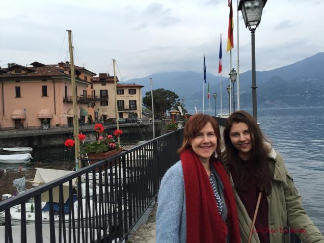 On the Walkway Menaggio Harbour
