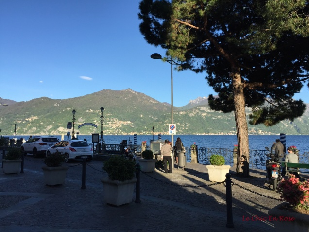 View Out To The Lake From The Town Square Menaggio