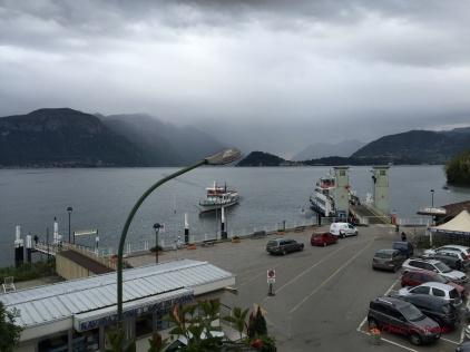 Ferry Arriving at Menaggio Quay