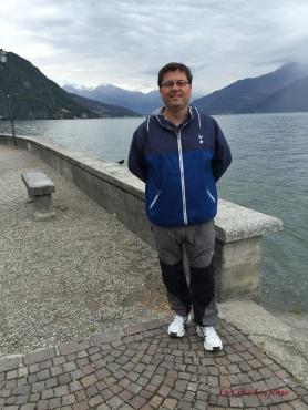Promenade Along The Menaggio Lake Front
