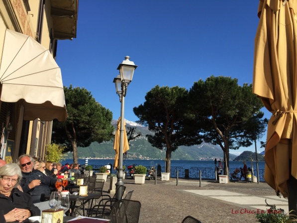 View Out To Lake Side Of Cafe Del Pess