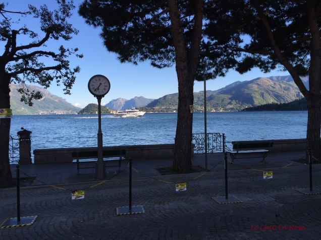 View Of Lake Como From Menaggio Square