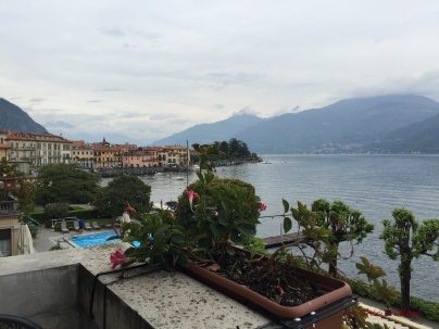 Lake Como View From Our Balcony At The Grand Hotel Menaggio