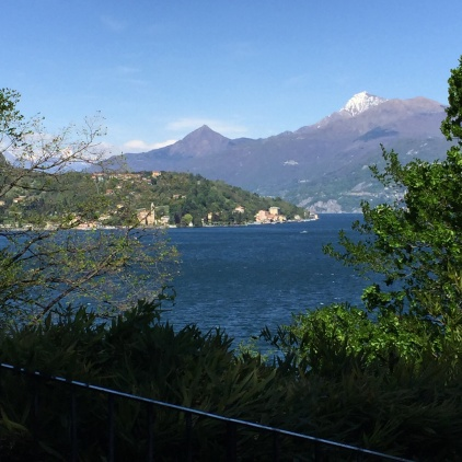 Lake Como From the Hillside