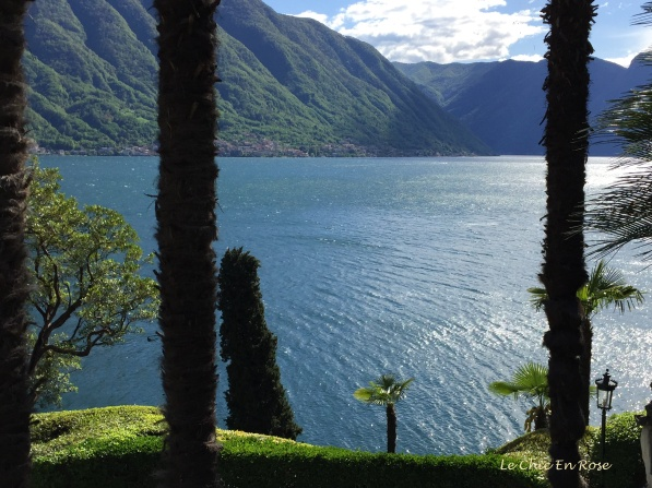 View From Gardens Of Villa del Balbianello