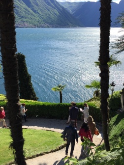 Lake Como Views From Villa del Balbianello