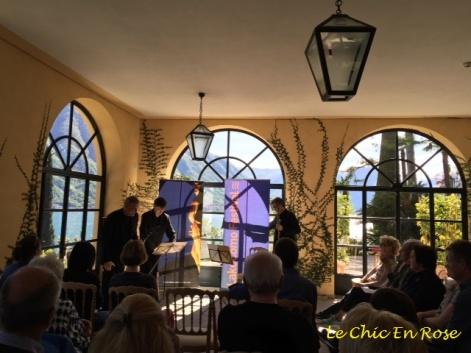 Como Music Festival concert at Villa del Balbianello
