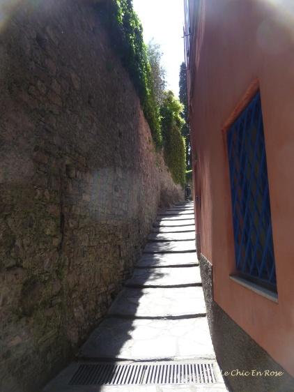 Narrow streets of Varenna