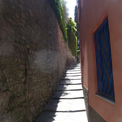 Narrow streets of Varenna