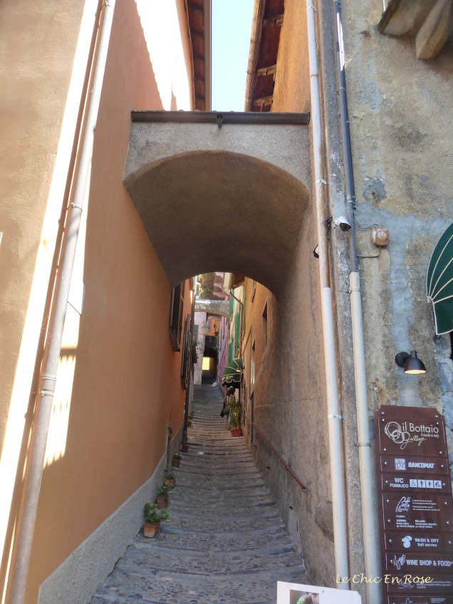 Exploring the streets of Varenna