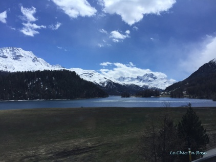 Silvaplanersee South Of St Moritz