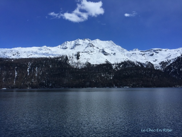 Lake Silvaplana Near St Moritz