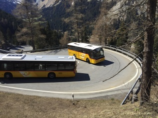 Swiss Post Buses Maloja Pass