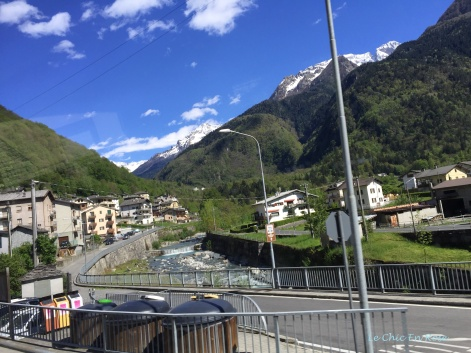 Coming Into Chiavenna
