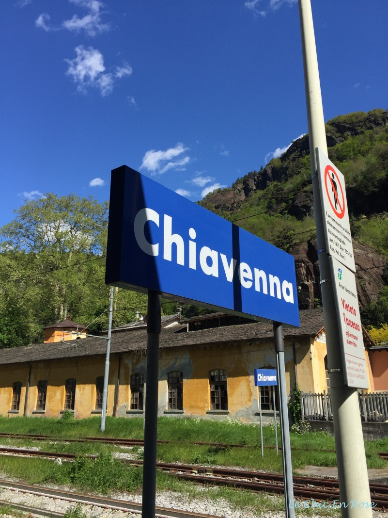 Chiavenna North Italy
