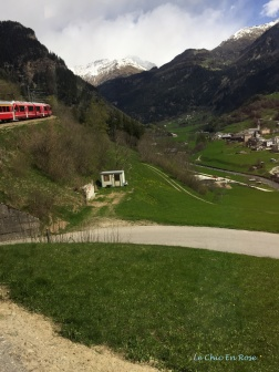 Bernina Climbing The Poschiavo Valley