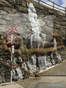 Icicles By The Railway Tracks