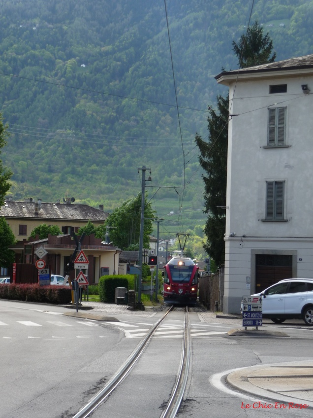The Bernina Express Tirano Town Centre