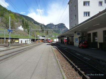 Platform At Poschiavo