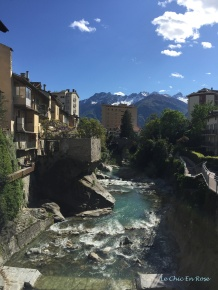 The Stunning Setting Of Chiavenna On The River Mera
