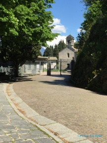 The Gates Of Piona Abbey