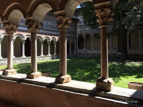 The Cloisters At Piona Abbey