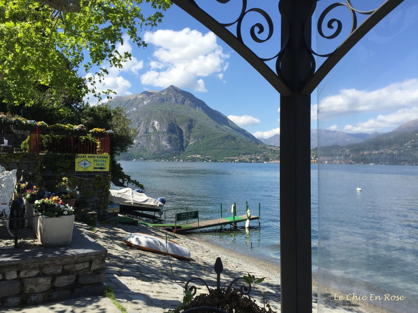 View Of Lake Como From Nilus Bar Terrace