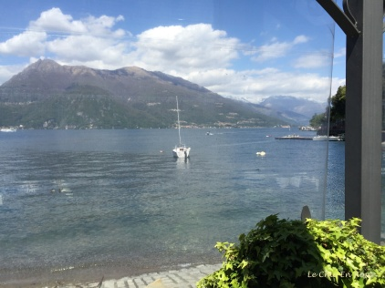 Lake Como viewed from Nilus Bar Terrace