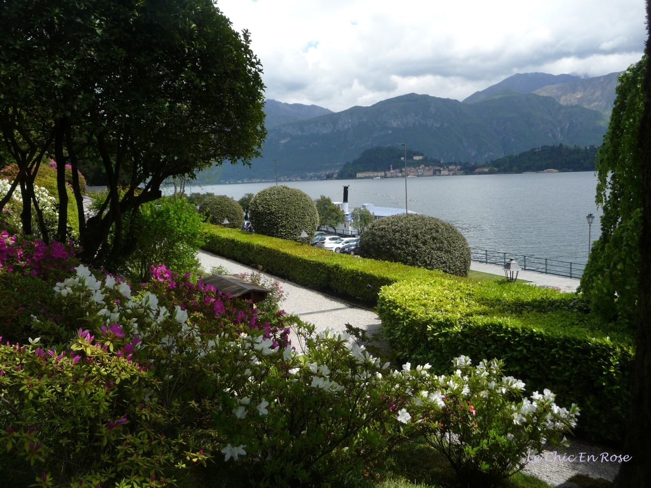 Lake Como Viewed From The Terraces Of Villa Carlotta Tremezzo