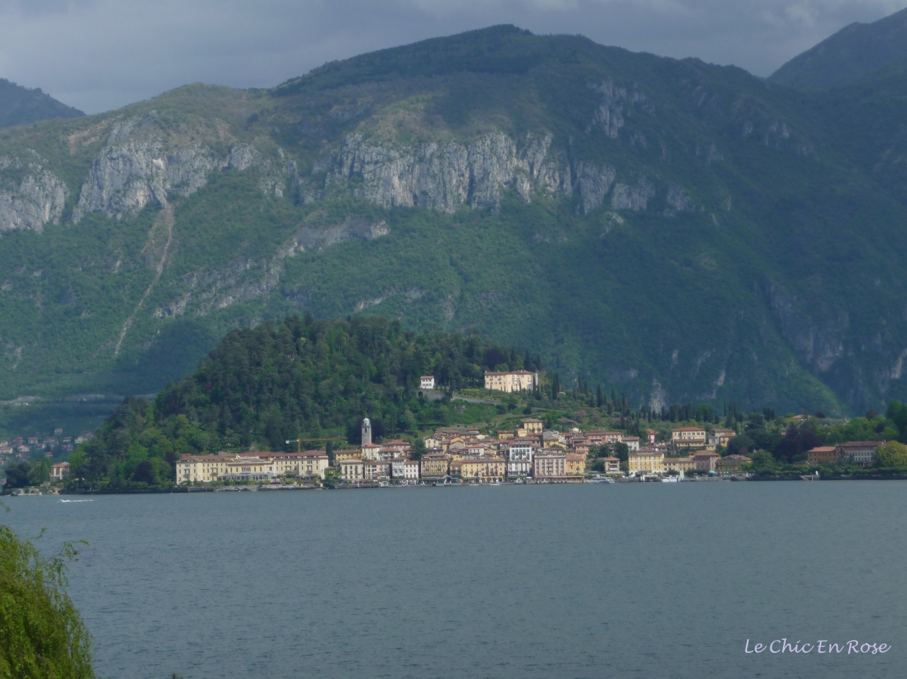 View Across Lake Como To Bellagio