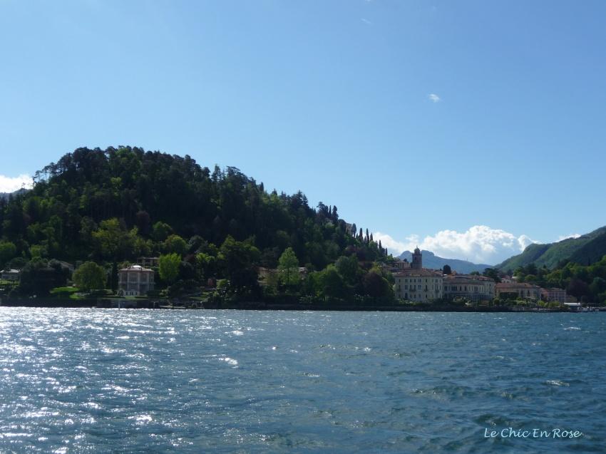 Approaching Bellagio Lake Como