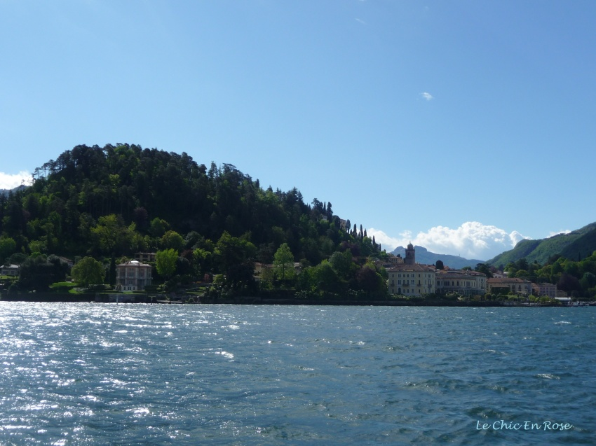 Approaching Bellagio Lake Como