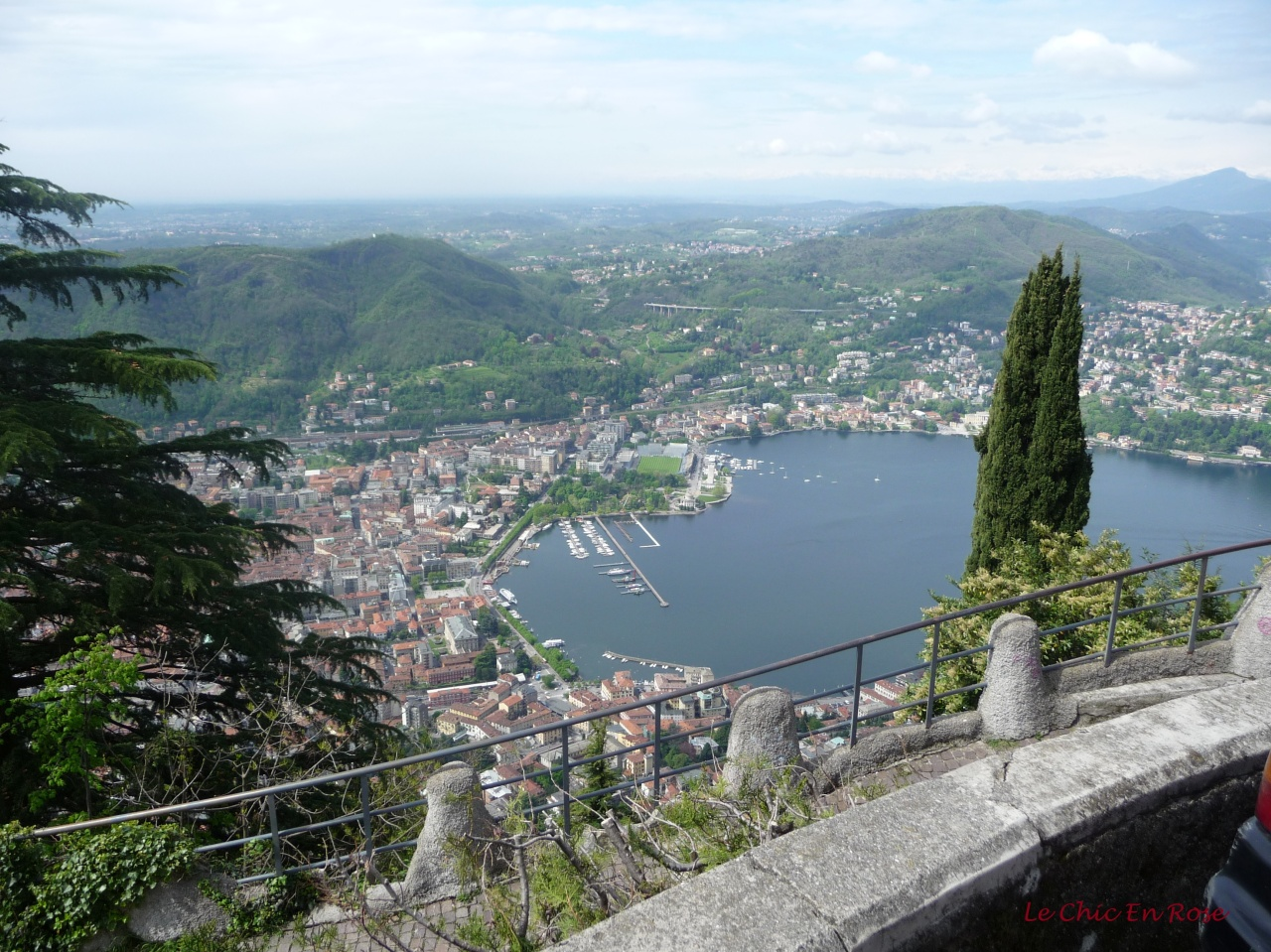 View Down To Como From The Brunate Funicolare