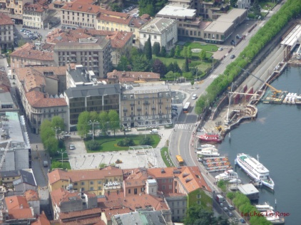 Looking Down On Lake Como And Piazza Cavour From Brunate