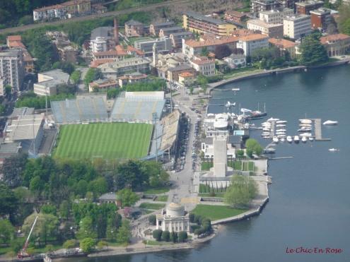 Lake Como Viewed From Brunate Funicular