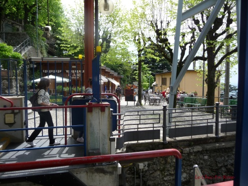 Brunate At The Top Of The Funicular Ride