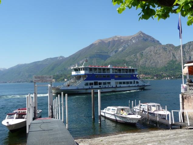 Ferry On Lake Como Bellagio