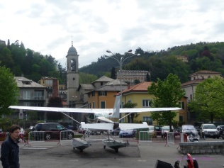 Seaplane At Aero Club Como