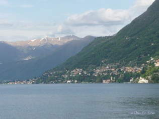 Lake Como viewed from Como City Quay