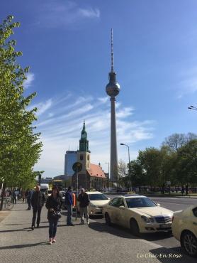 View To Fernsehturm and Alexanderplatz