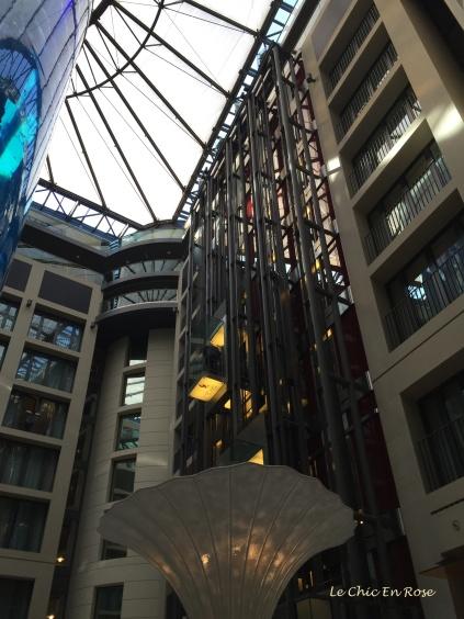 Radisson Blu Hotel Lobby Berlin
