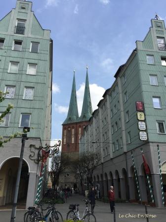 Streets Of The Nikolaiviertel Berlin