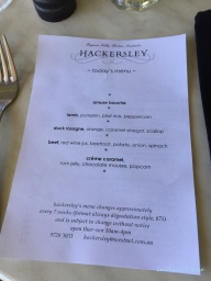 Menu Of The Day Hackersley