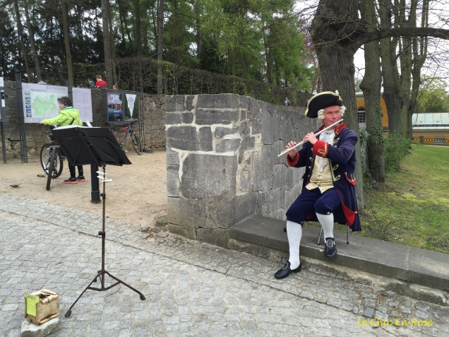 Entertainment In The Sanssouci Grounds