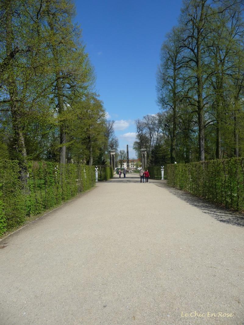 Gardens At Sanssouci